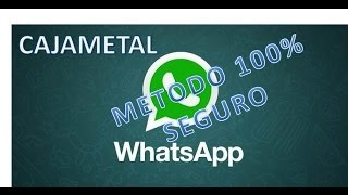WhatsApp Sin Datos Y Sin Wifi Gratis Android 2017