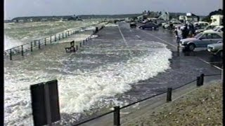 Stormy Water at Christchurch, Dorset, August 1992
