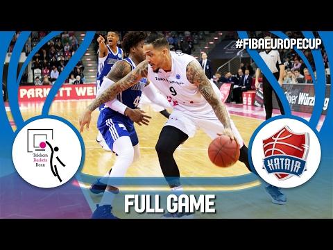 Telekom Baskets (GER) v Kataja Basket (FIN) - Ro16 - Full Game - FIBA Europe Cup 2016/17