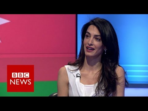 Amal Clooney: 'Why