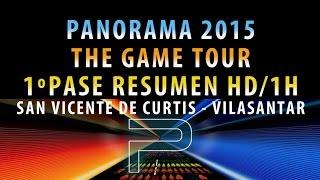 Orquesta PANORAMA 2015 - GAME TOUR | 1º PASE HD/1HORA | Vilasantar (La Coruña) GALICIA