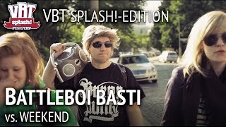 Repeat youtube video BattleBoi Basti vs. Weekend RR2 [FINALE] VBT Splash!-Edition