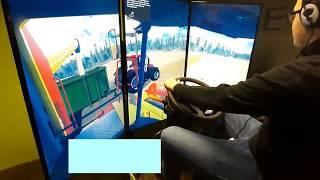 MFR CFA Condé sur Vire - Simulateur de conduite d'engins