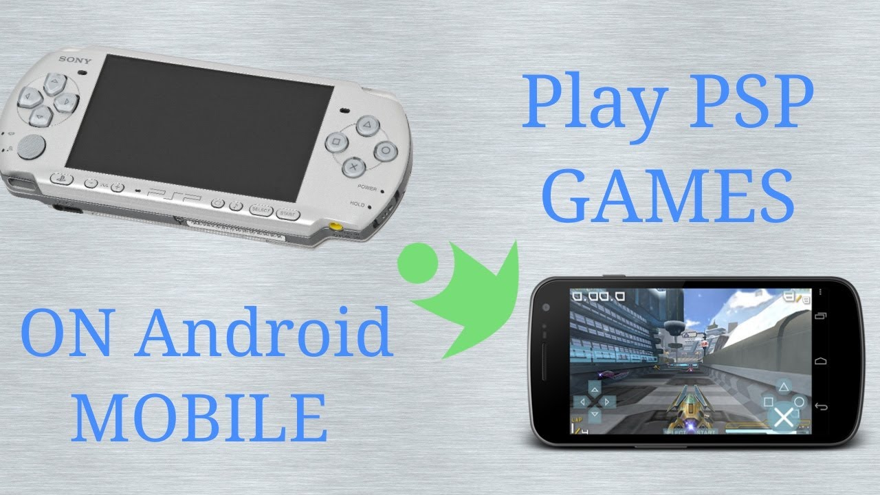 How To Play PlayStation (PSP) games on Android Mobile Using PPSSPP emulator. (4k)