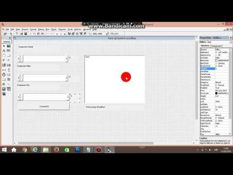 Cara Menggunakan Scroll Bar Pada Visual Basic