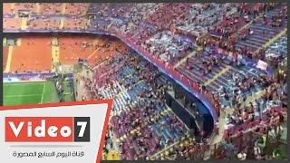 """بالفيديو.. لقطات حية من ملعب """"سان سيرو"""" قبل نهائي دوري أبطال أوروبا"""