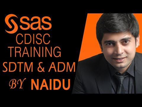 SAS  Clinical programming - CDISC | SDTM | ADM | TLF Training by Naidu