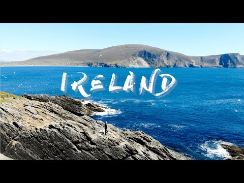 IRELAND Travel Vlog Part 1 爱尔兰旅行日记