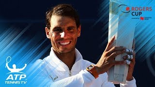 Nadal wins 80th ATP title in Toronto | Rogers Cup 2018 Final