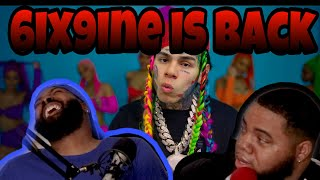 6IX9INE- GOOBA (Official Music Video) (REACTION) (Clutch or Not)