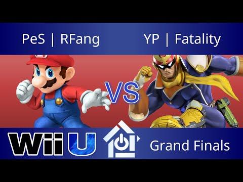 Clash of the Carolinas - PeS | RFang (Mario) vs YP | Fatality (Falcon) - Smash 4 Grand Finals