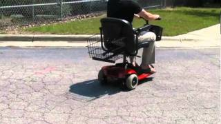 The AmeriGlide Mobility Travel Scooter