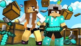 Minecraft: SKYWARS - OS ITENS DO MEIO SÃO NOSSOS!