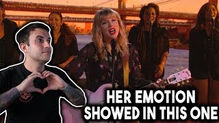 Taylor Swift - LOVER live on BBC LOUNGE REACTION