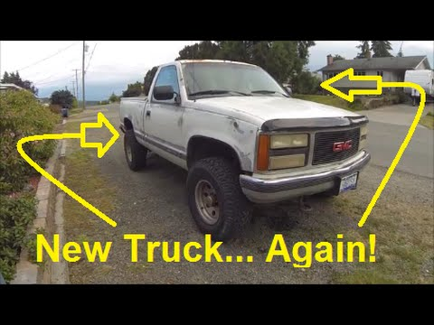 1992 GMC Sierra GASSER Walkaround - MY NEW TRUCK