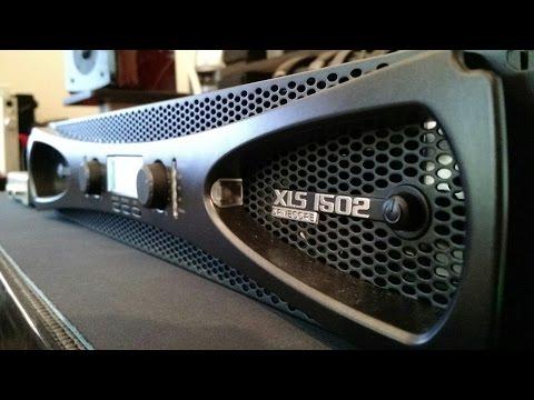 Z Review - Crown XLS1502 POWAAAH!!! AMP