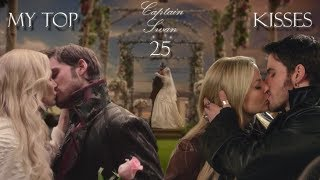 My Top 25 Captain Swan Kisses