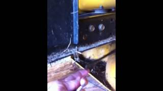 how to fix cub cadet transmission not going into gear