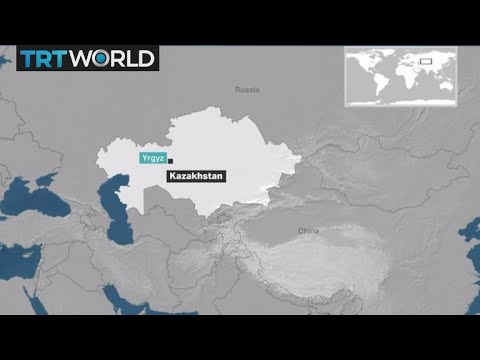 Breaking News: Bus catches fire in Kazakhstan, killing dozens