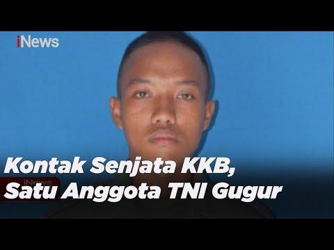 Kontak Senjata KKB Di Intan Jaya, Satu Anggota TNI Gugur Ditembak Di Perut - INews Sore 15/02