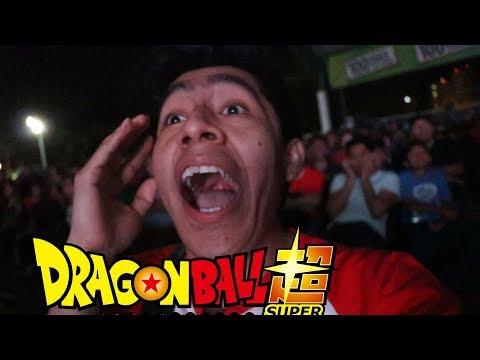 ASÍ VIVIÓ LA GENTE EL CAPÍTULO 130 DE DRAGON BALL SUPER EN VIVO EN MÉXICO