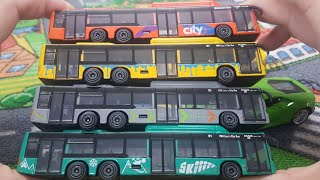 Bus for Kids Unboxing Buses Video MAN lion city bus kids