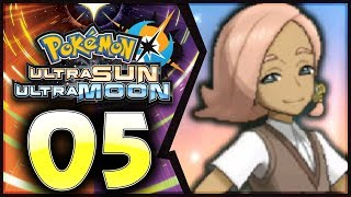 Pokemon Ultra Sun and Moon: Part 5 - Captain Ilima! [100% Walkthrough]