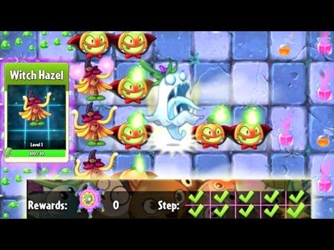 Plants vs. Zombies 2 - Epic Quest: Premium Seeds - Witch Hazel (S6 to S10)