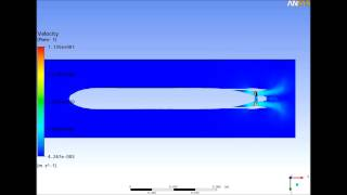 AUV Free Running Test _ Nozzle Propeller