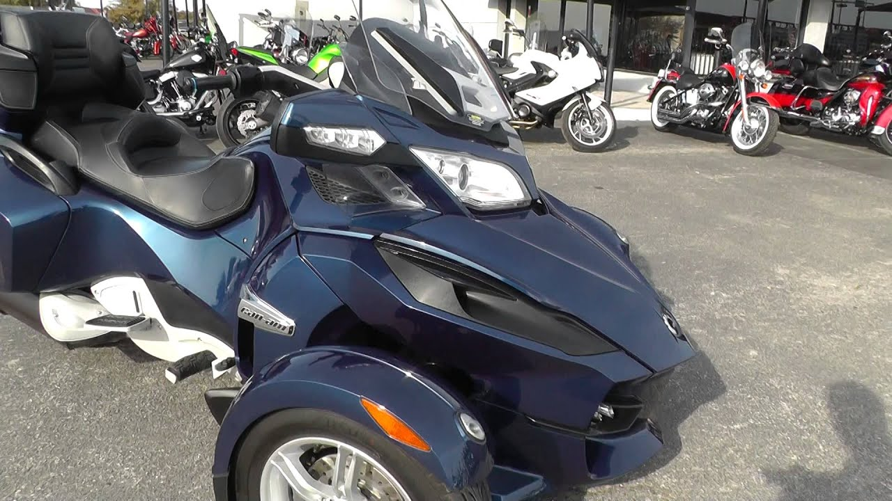 001316 2011 can am spyder rt s used motorcycle for sale youtube. Black Bedroom Furniture Sets. Home Design Ideas