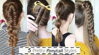 5 Ponytail Hairstyle Ideas | Ponytail Hairstyles | Braidsandstyles12
