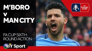 Middlesbrough 0-2 Manchester City | FA Cup Highlights