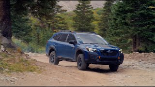 homepage tile video photo for The all-new 2022 Subaru Outback® Wilderness™.
