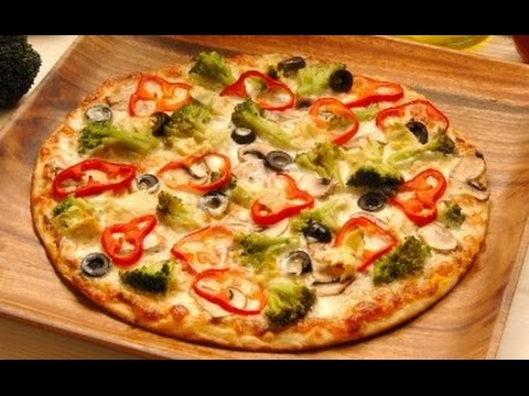 Homemade Yeast Free Pizza (with Homemade Pizza Sauce)