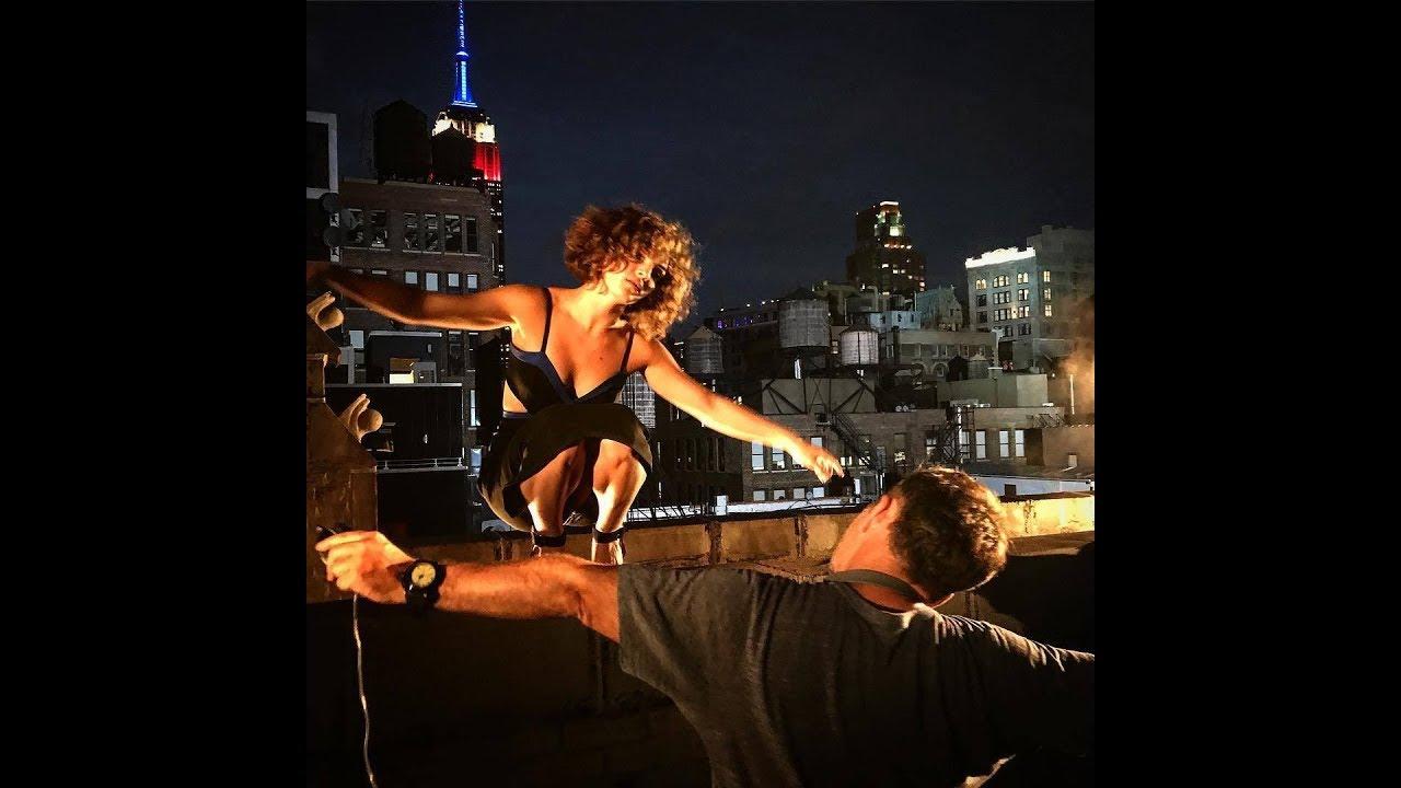 Camren Bicondova Gotham Season 4: Camren Bicondova Behind The Scenes Of 'Gotham' Season 4