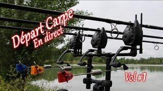 Pêche à la carpe: DEPART CARPE EN DIRECT volume 1