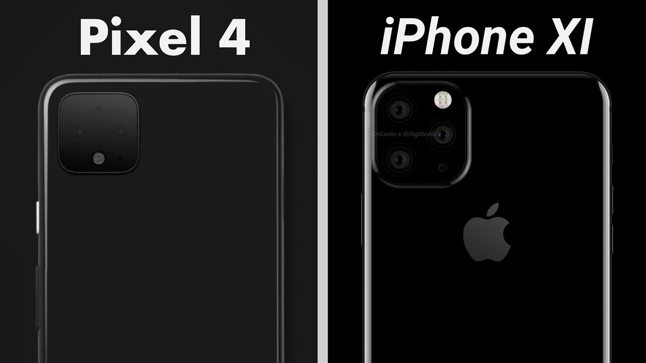 Image result for pixel 4 and iphone xi