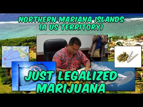 US Territory Legalizes Weed, Including Sales