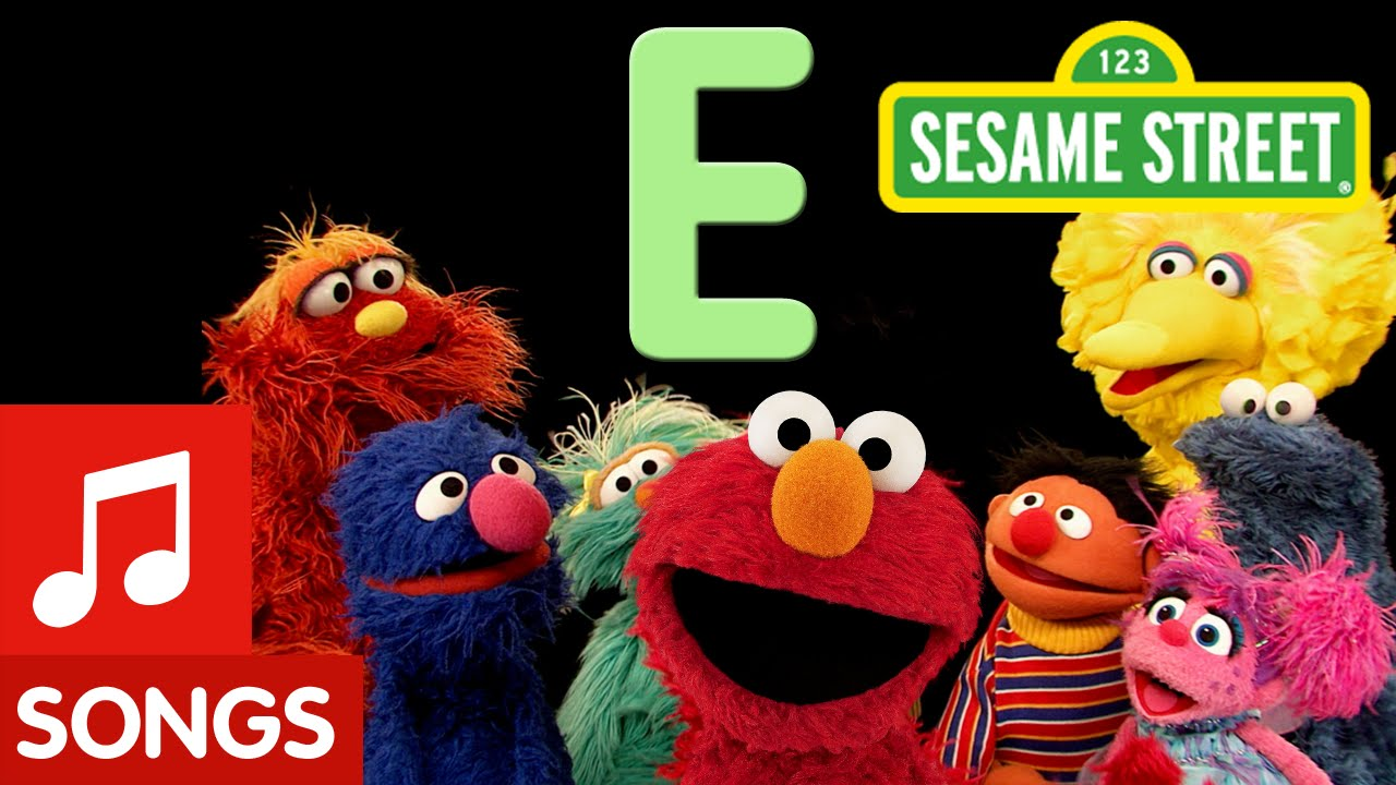 sesame street letter e sesame letter e letter of the day 51821