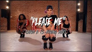 "Cardi B and Bruno Mars - ""Please Me"" 