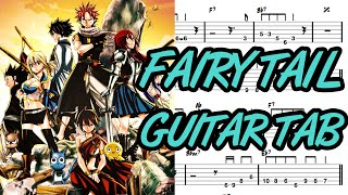Learn How to Play Fairy Tail Main Theme Fingerstyle Acoustic Guitar Lesson TABS(Slow Version)