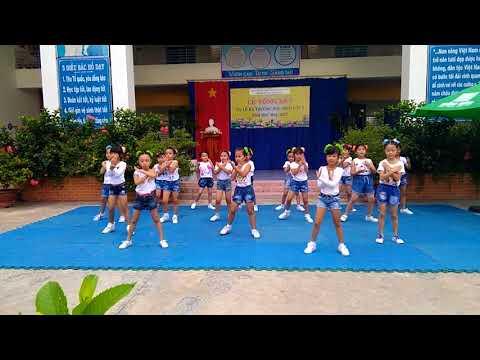Dân vũ Bống bống bang bang trường Tiểu học Trương Định TP.Tây Ninh