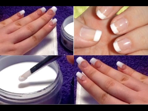 Diy acrylic nails easy at home youtube diy acrylic nails easy at home solutioingenieria
