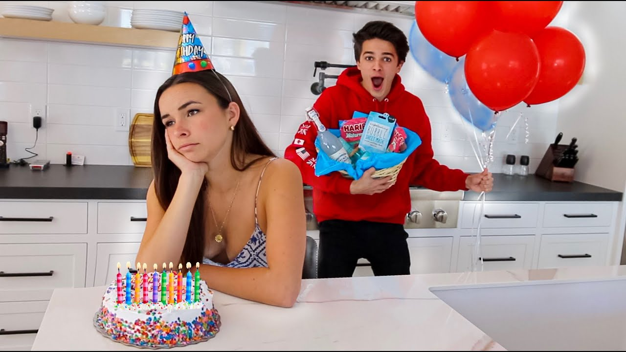 NOBODY CAME TO HER BIRTHDAY.. SO I SURPRISED HER!!