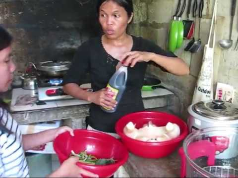 Turbo Cooker And A Giant Chicken With Guest Sisters A Cooking With Marife Video Expats Philippines F