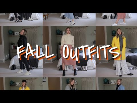 Fall Outfits! 🍁| How To Style Autumn Clothes In Canada
