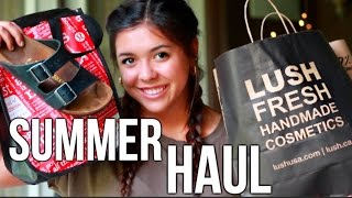 HUGE Summer Haul!! Lush, Urban Outfitters, F21!