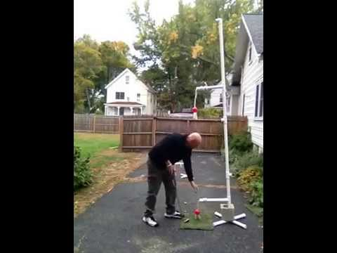 BOXING GOLF EXERCISE ROUTINE , JOE'S INVENTION FOR EXERCISING SWINGING A GOLF CLUB., JOE PRACTICE®