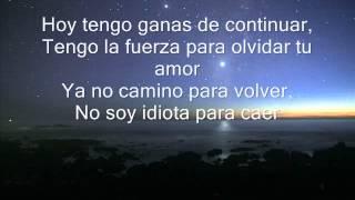 Tu Tiempo Ya Se Fue - Camila (Letra)