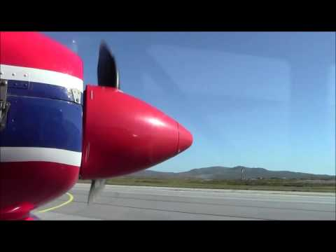 Falkland Islands - Stanley Airport FIGAS Takeoff